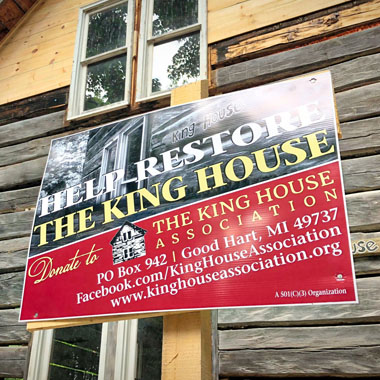 Support King House Restoration